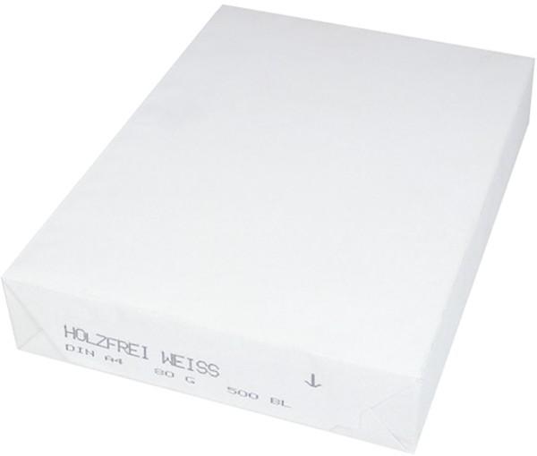 Kopierpapier A4 80g weiss neutrale Ware