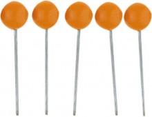 Markierungs-/Rundkopf-/Landkartennadel Kopfd.5mmx16mm orange