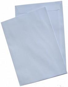 Versandtasche, C4, Haftklebung, weiß, 120g, Offset, mit grauem