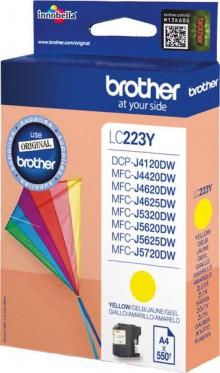 Tintenpatrone LC-223 gelb für MFC-J4420DW, MFC-J4620DW,