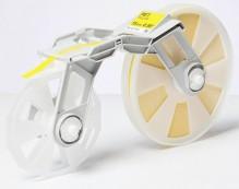 Bandkassette gelb MC-ET1YE 15mmx300m, Plastikband,f. Tape Creator TP-M5000N