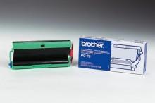 Mehrfachkassette PC-75 mit Thermo- transferrolle für Faxgeräte T-102,