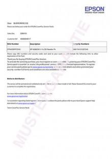 Coverplus - Vor-Ort Service 4 Jahre für WorkForce WF DS-530