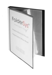 Präsentations-Sichtbuch, 30 Hüllen schwarz 310 x 240 x 22 mm (HxBxT)