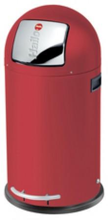 Hailo Großraum-Abfallbox KickMaxx 35 Liter, signalrot