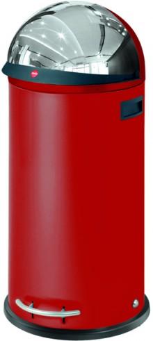 Hailo Großraum-Abfallbox KickVisier, 50 Liter,