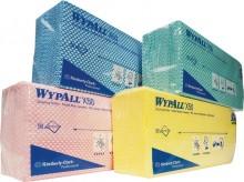 Wischtücher WYPALL X50, rot f. Spender 6954, Interfold-Faltung