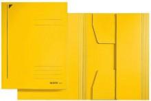 Leitz Jurismappe/Dreiklappenmappe A4 320 g/m2 gelb