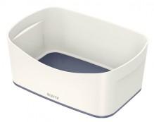 MyBox Aufbewahrungsschale weiß/grau, 246x98x160mm, ABS Kunststoff