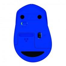 Maus M330 silent, blau, kabellos, über 90% reduzierte Klickgeräusche,