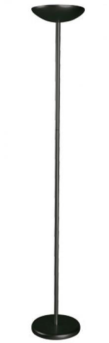 Deckenfluter MAULsky 184cm sw Engergiespar-Leuchte 2x20 Watt