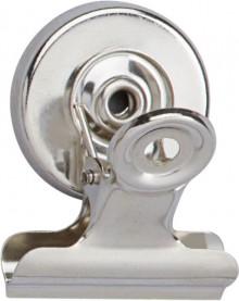 Maul Brief-Klemmer mit Magnet Breite 30mm, Klemmweite 15mm, 2 Stück