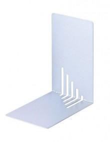 Buchstütze Metall silber schmal 14x14x8,5cm, 1 Paar