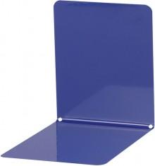 Buchstütze Metall blau breit 14x14x13cm, 1 Paar