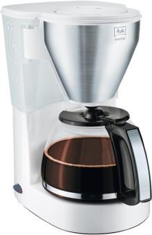 Kaffeemaschine Easy Top weiß, Glas- kanne für bis zu 10 Tassen,