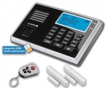 Alarmanlage Protect 9030GSM, schwarz Eingebaute Telefonwähleinheit, Sirene