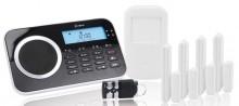 Arlarmanlage Protect 9661, drahtlos, schwarz, GSM Telefonwähleinheit,