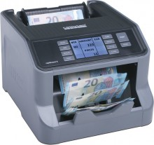 Banknotenzähler Rapidcount S 200 Zählt sortierte Banknoten (Euro)