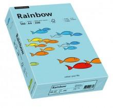 Kopierpapier Inkjet Rainbow A4 160g mittelblau