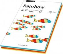 Kopierpapier Inkjet Rainbow A4 80g Intensiv-Mix