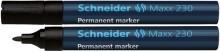 Schneider Permanentmarker 230 Rundspitze 1-3mm, schwarz