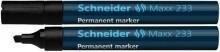 Schneider Permanentmarker 233 Keilspitze 1-5mm, schwarz
