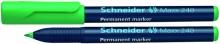 Schneider Permanentmarker 240 Rundspitze 1-2mm, grün,