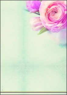 Motiv-Papier Rose Garden, A4, 90 g, für Ink/Laser/Copy