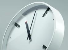 Design-Wanduhr artetempus® Modell: acto, white, geräuschloses