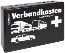 KFZ-Verbandskasten schwarz KU mit Füllung Standard DIN 13164