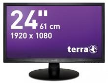 """LED Monitor 2412W schwarz 24"""" 16:9 Breitbild-Format, Full-HDTV"""
