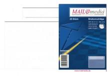 MAILmedia Briefumschlag C6, ohne Fenster, Selbstklebung, 75 g/qm, weiß