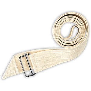 Aktengurt 75 cm, 30 mm breit. Material: Baumwolle rohweiß