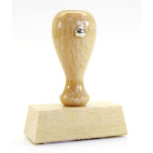 Holzstempel Original an Mandant