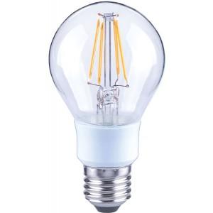 LED-Birne A60, E27, 4,5W, dimmbar, 470 lm, klar