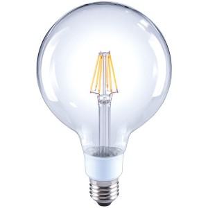 LED-Globe G120, E27, 7W, dimmbar, 810 lm, klar