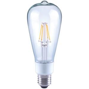 LED-Birne ST64, E27, 4,5W, dimmbar, 470 lm, klar