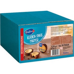 Bahlsen Kuchen-Snack Marmor, 55x27g