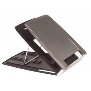 Laptophalter Q330 in 6 Stufen höhenverstellbar (zwischen 11-19cm).