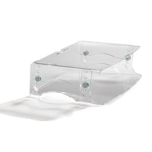 Monitorständer Q-riser 130 5-fach Höhenverstellbar: 6,8,10,12,14 cm