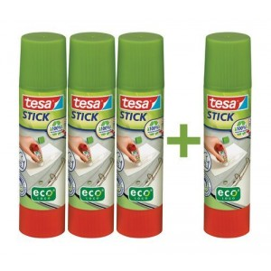 Tesa Stick Promotion Set mit 3 x Tesa Stick ecoLogo 20g