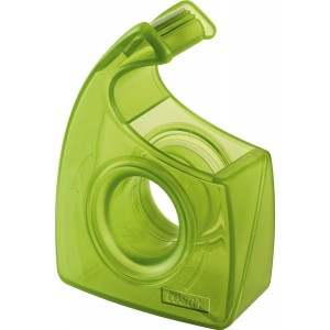 Handabroller Easy Cut ecoLogo, leer, grün, bis 10m x 19mm,