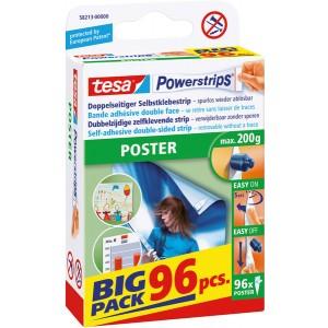 Selbstklebestrips Poster, Big Pack, 96 Strips