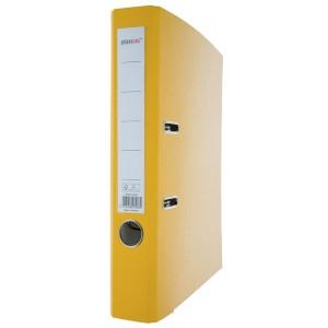 Büroring Ordner PP A4 50mm gelb