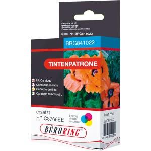 Dreikammer-Farbdruckpatrone für HP DeskJet 5740,6540,6540,