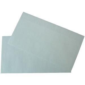 Büroring Kompaktbrief, Selbstklebend, weiß, 125 x 229mm