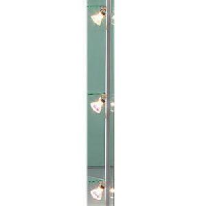 NV-Beleuchtung für Glasvitrinen 4-Spot 4 x 20 Watt Spothalter