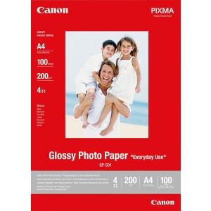 Fotoglanzpapier GP-501,200g/qm DIN A4 für IP1600,IP4200,IP2200,