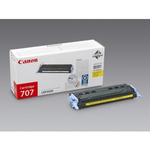Toner Cartridge 707 yellow für LBP-5000, LBP 5100