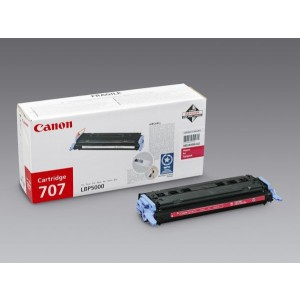 Toner Cartridge 707 magenta für LBP-5000,LBP-5100